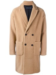 Route Des Garden Double Breasted Coat Brown