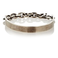 Title Of Work Men's Bit Cuff Bracelet Silver