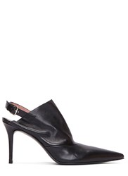 Acne Studios Priscilla Stiletto Heeled Pointed Mules Black