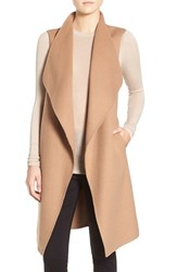 Soia And Kyo Women's Reversible Double Face Wool Blend Vest Camel