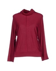 Alpha Massimo Rebecchi Turtlenecks Garnet