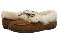 Vionic With Orthaheel Technology Cozy Juniper Moccasin Chestnut Women's Slip On Shoes Brown