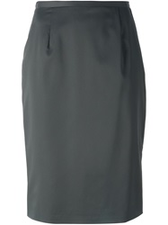 Jean Louis Scherrer Vintage Classic Pencil Skirt