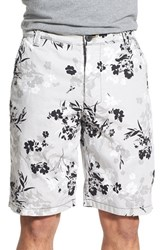 Men's Howe 'Switchstance' Floral Print Revesible Shorts