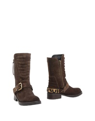 Apepazza Ankle Boots Dark Brown