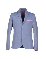 Roberto Pepe Suits And Jackets Blazers Men Sky Blue