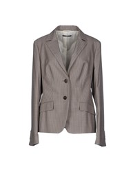Boss Black Suits And Jackets Blazers Women Grey