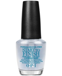 Opi Start To Finish All In One No Color