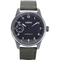Weiss Standard Issue Field Watch Black