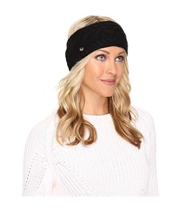Ugg Cable Headband Black Headband