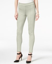 Styleandco. Style Co. Seamfront Ponte Leggings Only At Macy's Warm Ivory