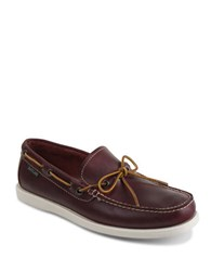 Eastland Yarmouth Leather Boat Shoes Oxblood