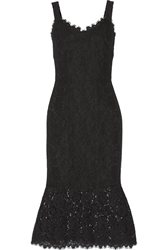 Dolce And Gabbana Fluted Lace Dress
