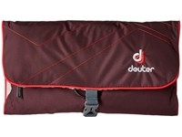 Deuter Wash Bag Ii Aubergine Fire Backpack Bags Brown