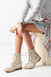 Timberland Authentic Waterproof Fold Down Boot White