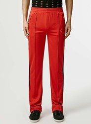Topman Design Red Tracksuit Trousers