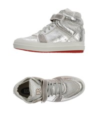 Ruco Line Footwear High Tops And Trainers Women Silver