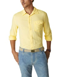 Dockers Solid Sportshirt Yellow