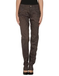 We Are Replay Casual Pants Dark Brown