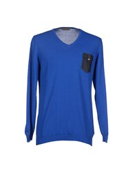Retois Knitwear Jumpers Men Bright Blue