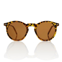 Omalley Sunglasses Tortoise Round Frame Brown By Americandeadstock