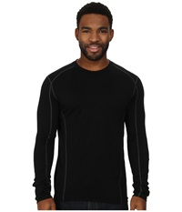Smartwool Nts Micro 150 Crew Neck Black Men's Long Sleeve Pullover