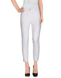 Clips Trousers Casual Trousers Women White