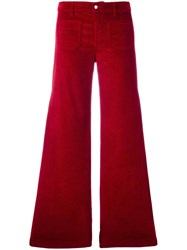 The Seafarer Corduroy Flared Trousers