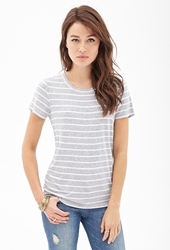 Forever 21 Nautical Striped Jersey Tee