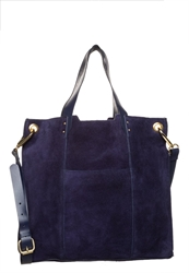 Zign Tote Bag Blue