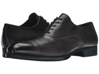 To Boot Justin Grey Men's Lace Up Cap Toe Shoes Gray