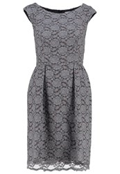 Swing Cocktail Dress Party Dress Grau Grey
