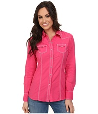 Ariat Dahlia Shirt Dahlia Women's Long Sleeve Button Up Purple