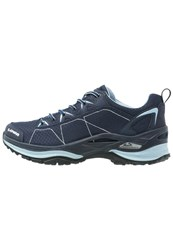 Lowa Ferrox Gtx Lo Walking Shoes Navy Eisblau Dark Blue
