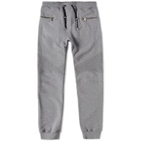 Balmain Calecon Biker Sweat Pant Grey
