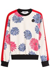 Msgm Printed Top Florals