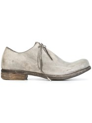 A Diciannoveventitre Classic Derby Shoes Grey