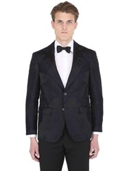 Ettore Bugatti Collection Damask Cotton And Silk Brocade Jacket