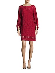 Laundry By Shelli Segal Bell Sleeve Lace Dress Hot Date