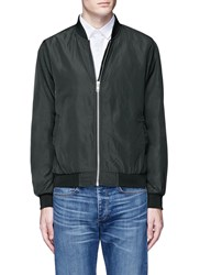 Topman Lightweight Bomber Jacket Green