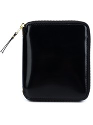 Comme Des Garcons Wallet Small Zipped Wallet Black