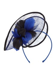 Linea Lulu Twist Fascinator Cobalt