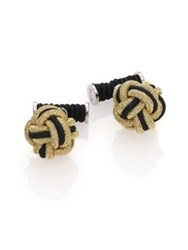 Hook Albert Knot Cuff Links