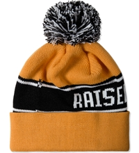 Raised By Wolves Yellow Bruno Toque Beanie