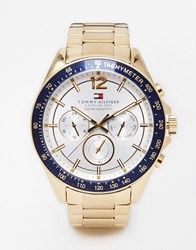 Tommy Hilfiger Luke Stainless Steel Watch 1791121 Gold
