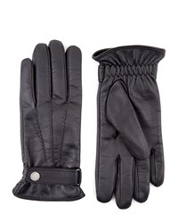 Jaeger Touch Leather Classic Gloves Black