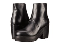 Thakoon Gogo 01 Black Leather Women's Zip Boots