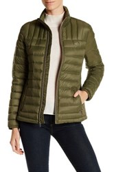 Levi's Quilted Packable Puffy Jacket Green