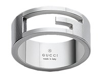 Gucci Branded Ring Silver Ring