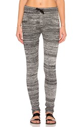 Plush Marled Sweater Legging Gray